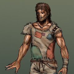 Male human concept art for <i>Fallout Tactics</i>