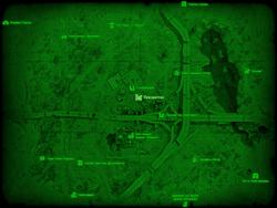 FO4 Лексингтон (карта мира)