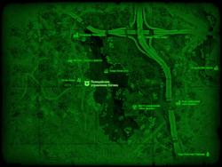 FO4 Полицейское управление Натика (карта мира)