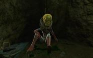 FO4 Alien sitting
