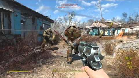 Fallout 4 Нападение супермутантов на поселение