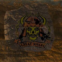 Знак Великих Ханів на камені