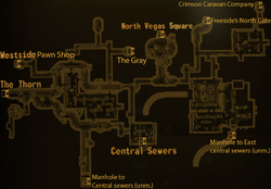 North sewers local map