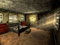 Searchlight home bedroom