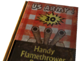 U.S. Army: 30 Handy Flamethrower Recipes