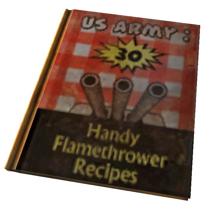 U S  Army: 30 Handy Flamethrower Recipes | Fallout Wiki