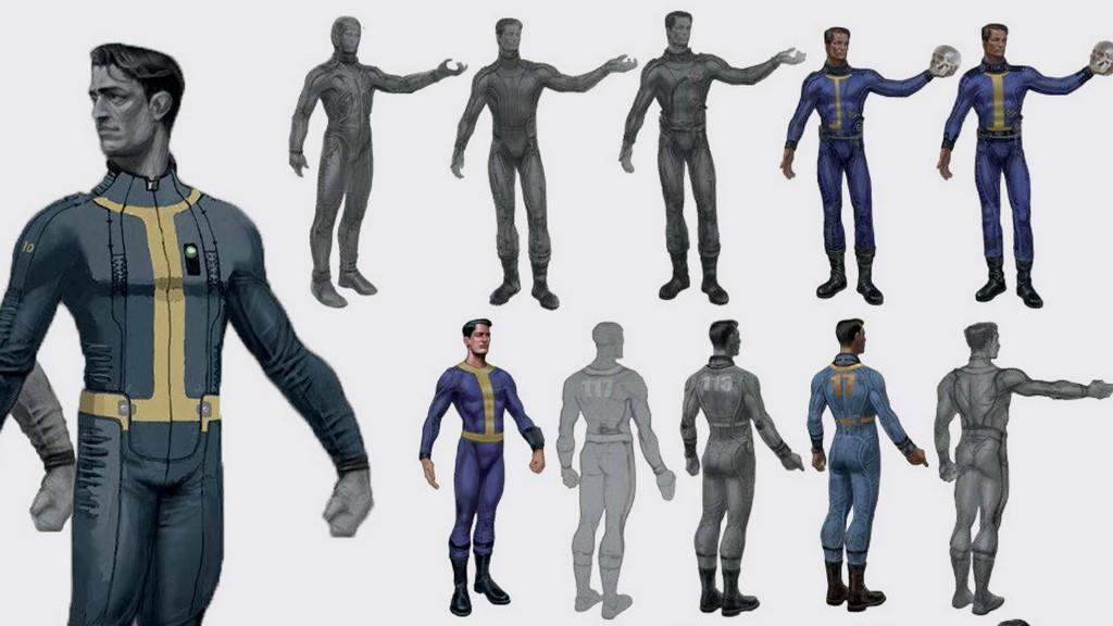image vault suit concept art jpg fallout wiki fandom powered