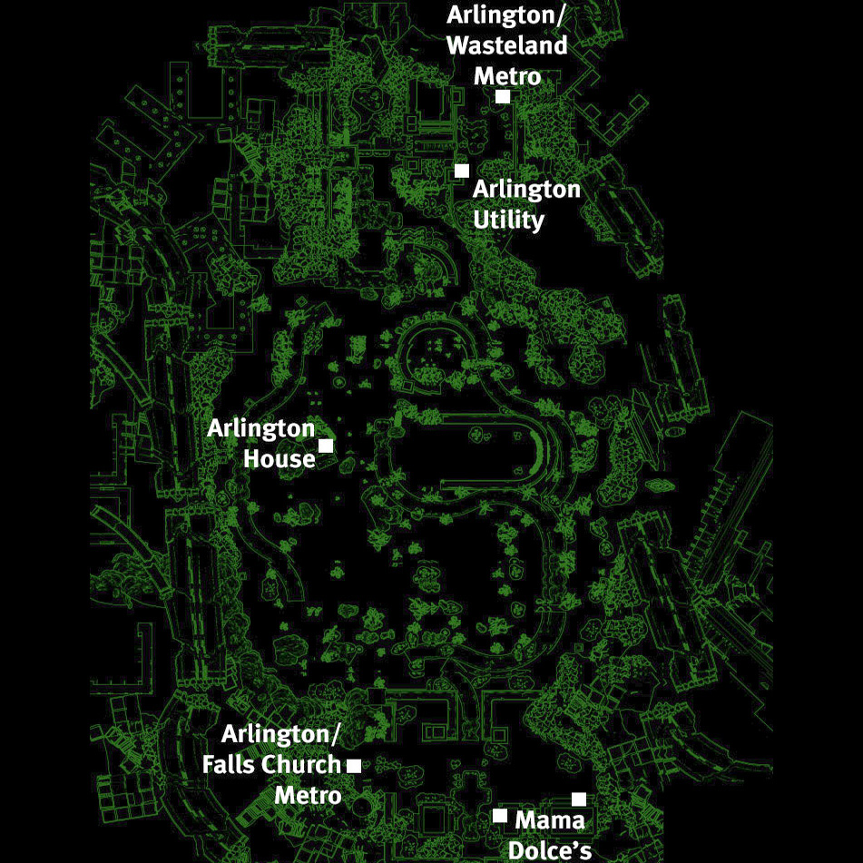 Image - Arlington Cemetery map.jpg | Fallout Wiki | FANDOM powered ...
