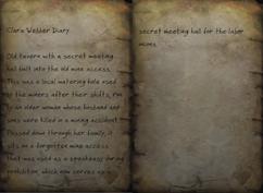 Clara Webber's diary