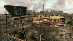 FO3 Grisly Diner overview