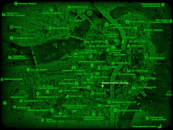 FO4 Жилой квартал «Оуквуд» (карта мира)