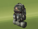 Modular military backpack