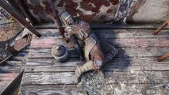 FO76 raider corpse Seneca Gang