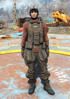 Fo4Field Scribe's Armor