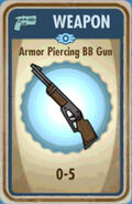 FoS Armor Piercing BB Gun Card