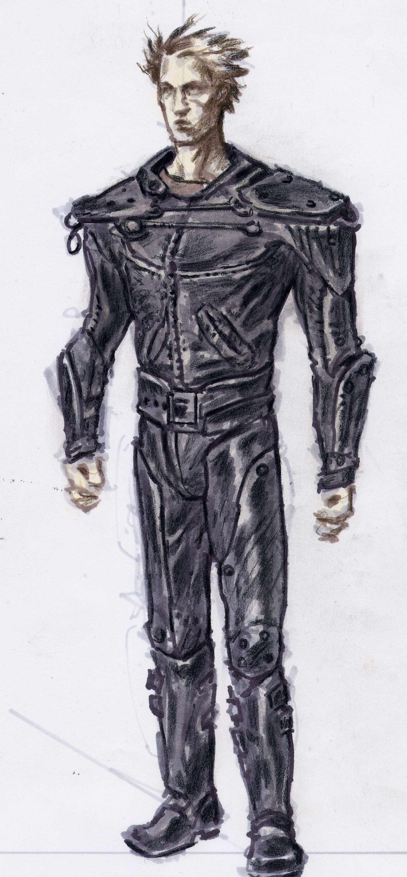 Leather armor CA3