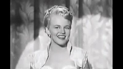 """Peggy Lee """"Why Don't You Do Right"""""""