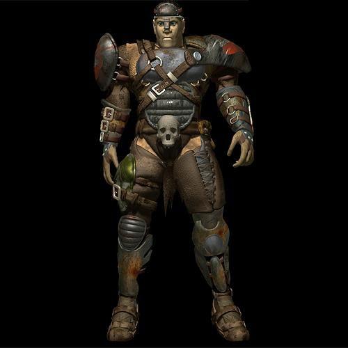 Vandal armor render