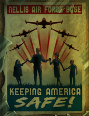 FNV Nellis AFB poster Keeping America Safe