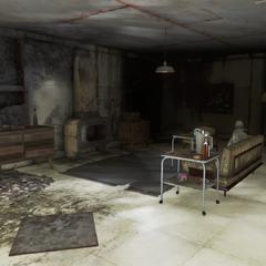 Кімната у відділі контролю якості