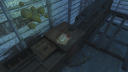 FO4 Wasterland survival guide in Ranger Cabin