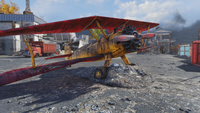 Fo76 Biplane red