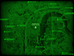 FO4 Водоочистная станция «Уэстон» (карта мира)