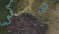 FO76 Завод «Ядер-колы» - Канова (карта мира)