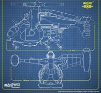FWW Vertibird schematic