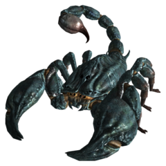Giant radscorpion