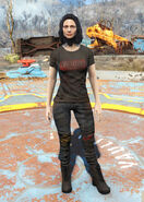 Hot Rodder t-shirt female