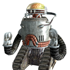 Robobrain in <i>Fallout 3</i> and <i>Fallout: New Vegas</i>