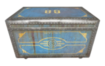 Vault 88 steamer trunk dirty