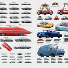 Various pre-War vehicles, from <i><a href=