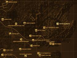FNV Карта ГЛОТКА ДЬЯВОЛА