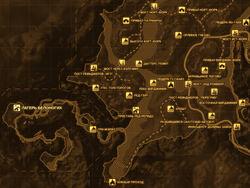 FNV Карта ЛАГЕРЬ БЕЛОНОГИХ
