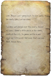 FO4 Eleanor's Note