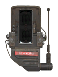 FO76 Silo Alpha code piece