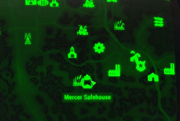 mercer safehouse fallout wiki fandom powered by wikia