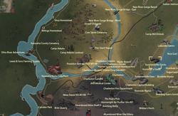 Summersville Docks map