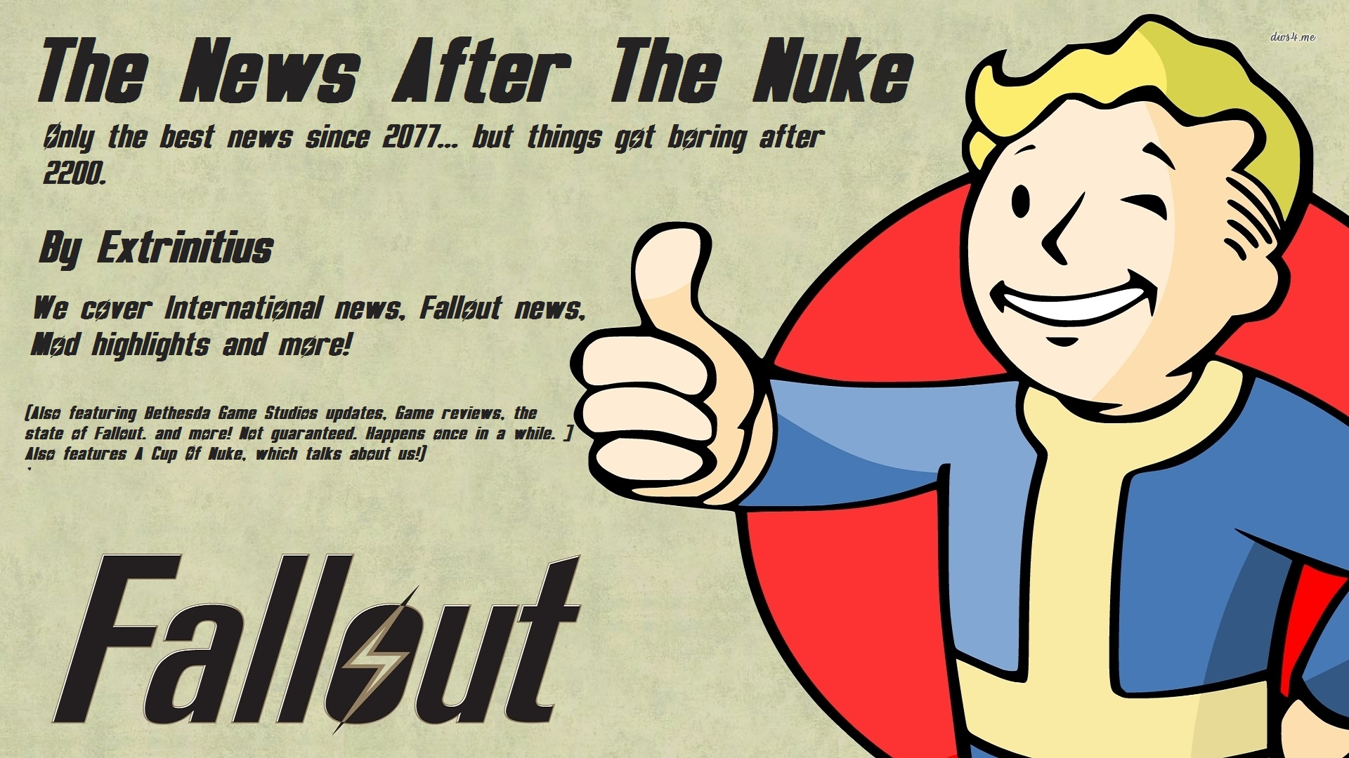 User blog:Extrinitus/The News After The Nuke -- 13th Edition