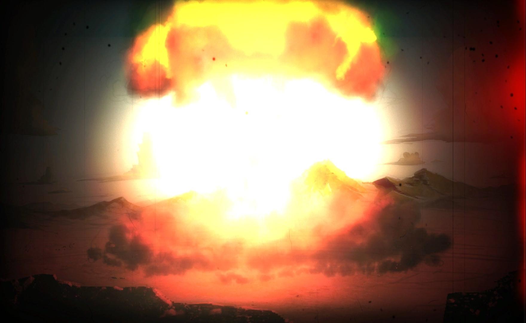 DM intro atom bomb