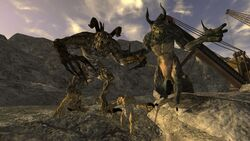 FNV Deathclaw family Quarry Junction
