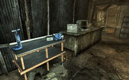 FO3 Megaton Craterside Supply Workbench