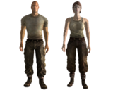 FO3 Merc grunt outfit