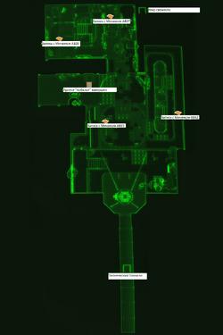 FO4 секретная лаборатория карта