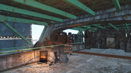 FO4 Mass Pike Interchange turret