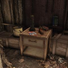 Magazine location (Eastern tool shack)