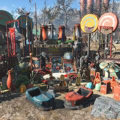 Nuka-World settlement objects