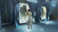 FO4 Mrs Able near cryo pod